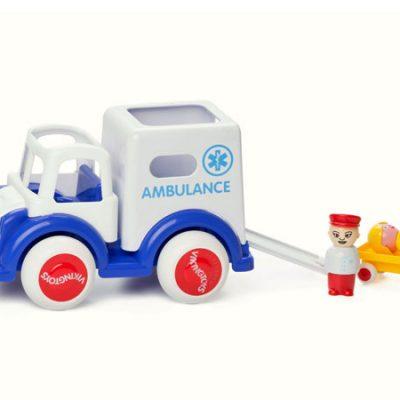 Viking Toys Ambulance, altid gode tilbud på legetøj til børn