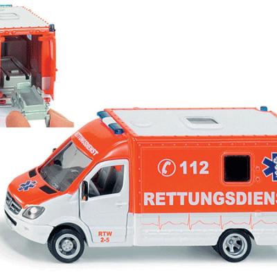 Siku 2108 Ambulance, legetøjs biler til børn fra siku
