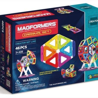 Magformers Carnival 46 dele, magnetlegetøj til børn, altid gode tilbud på legetøj til børn