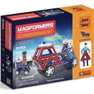Magformers XL Cruiser Udrykning, magnetlegetøj til børn, altid gode tilbud på legetøj