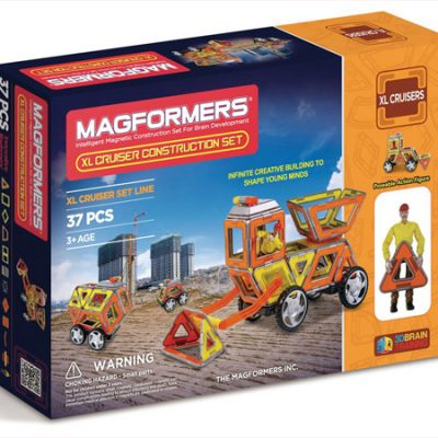 Magformers XL Cruiser Konstruktion