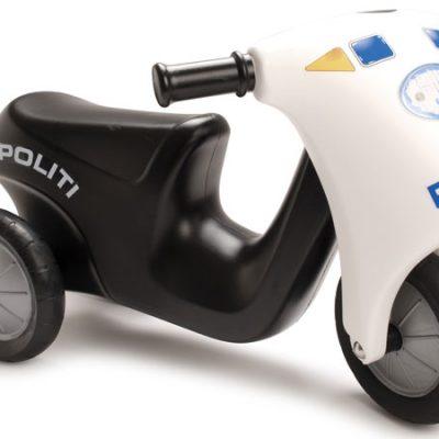 DANTOY Politimotorcykel, kvalitets legetøj, tilbud