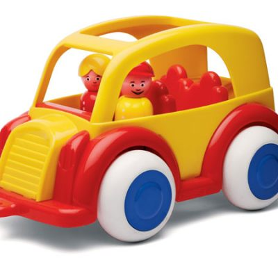 Viking Toys Bus, legetøjsbil