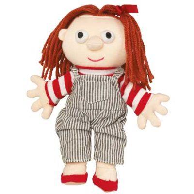 DR Anna Beanbag - 20 cm, hånddukker til børn