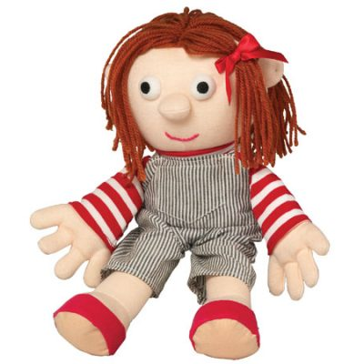 DR Anna Beanbag - 32 cm, hånddukker til børn fra dr