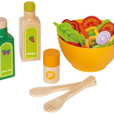 Hape Salat, legemad til børn, altid gode tilbud på legetøj til børn