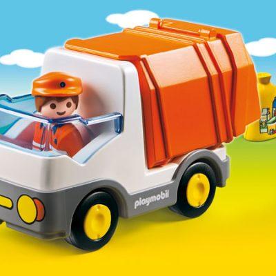 Playmobil 1.2.3 Skraldebil, kvalitets legetøj fra playmobil, gode tilbud på legetøj