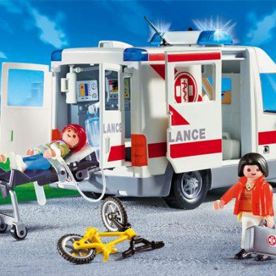 Playmobil Ambulance med sirene, Kvalitets legetøj, stort udvalg af playmobil