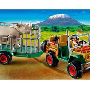 Playmobil Opsynsmand med JEEP