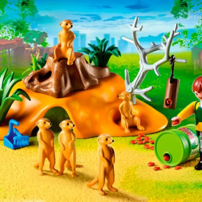 Playmobil Surikathule, legetøj til børn, playmobil
