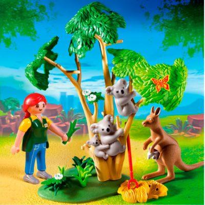 Playmobil Koala og kænguru, byggesæt og legetøj til børn, altid gode tilbud