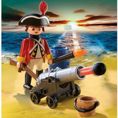 Playmobil Rødfrakkevagt med kanon, legetøj og byggesæt til børn, altid gode tilbud