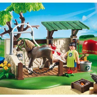 Playmobil Hesteplejestation, legetøj og byggesæt til børn