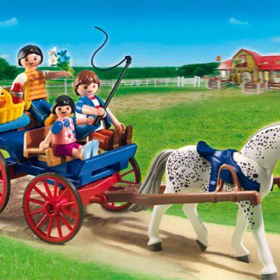 Playmobil Hestevogn, legetøj til børn, altid gode tilbud