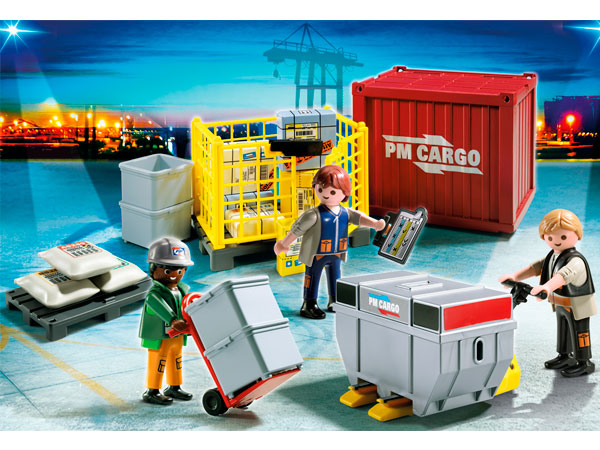 Fabriksnye ABELEG.DK - Kvalitetslegetøj til børn - Playmobil Lastpersonale DG-48