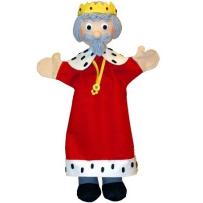 Trullala Hånddukke Konge, altid gode tilbud på legetøj, dukker til børn
