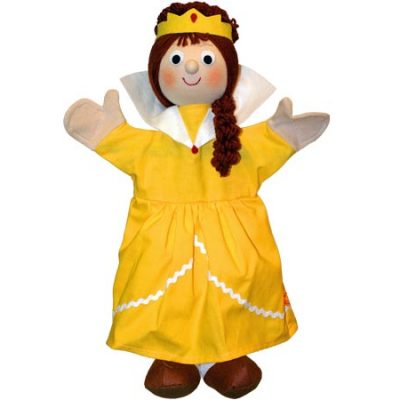 Trullala Hånddukke Dronning, dukker til børn