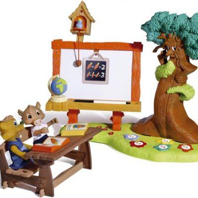 Berchet Happy Friend skole i skoven, legetøj til børn, altid gode tilbud