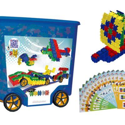 Clics Blue Box 800 stk, byggesæt til børn, altid gode tilbud på legetøj