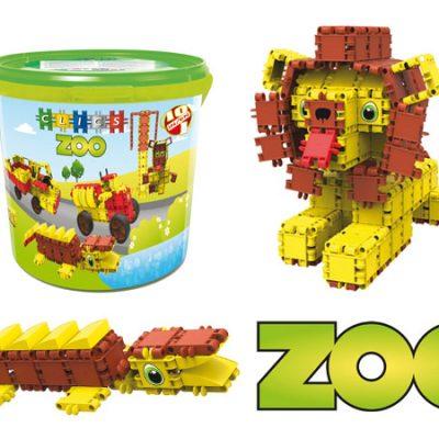 Clics Zoo 330 stk, byggesæt til børn, altid gode tilbud på legetøj