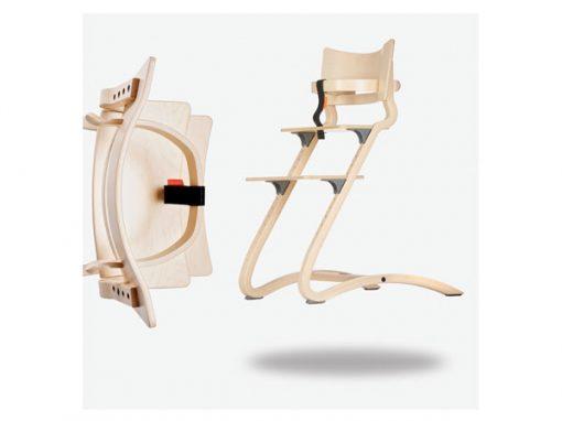 Leander Bøjle til højstol, white wash, kvalitets møbler til børn