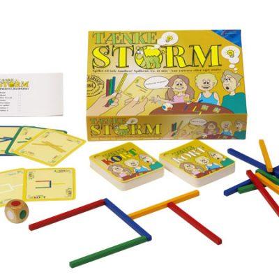 TænkeStorm, spil til børn