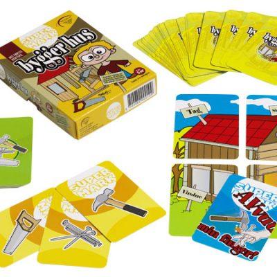 SuperMark Bygger Hus, spil til børn