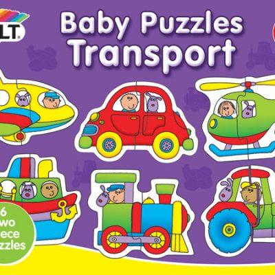 Galt Babypuslespil Transportmidler. puslespil til børn fra galt