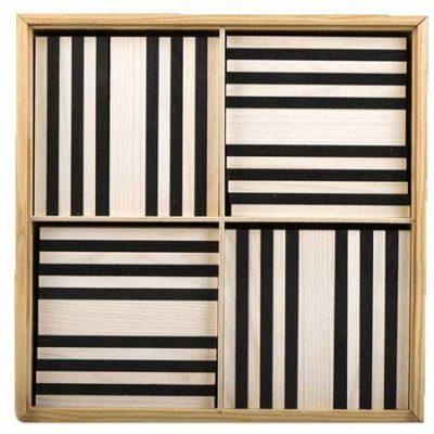 KAPLA sæt sort/hvid 100 stk. Kvalitets trælegetøj, gode tilbud på legetøj