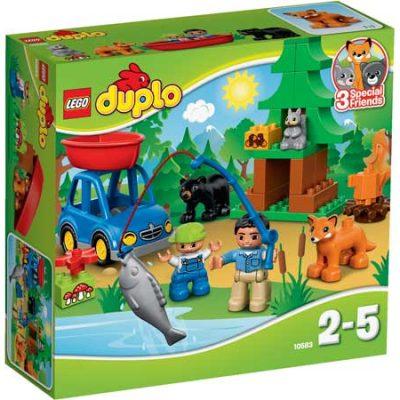 LEGO DUPLO Skov: Fisketur, stort udvalg af lego duplo, altid gode tilbud på legetøj