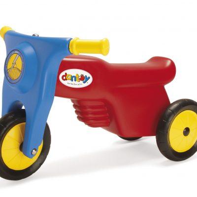 DANTOY Motorcykel med Gummihjul, køretøjer, løbecykler og cykler til børn