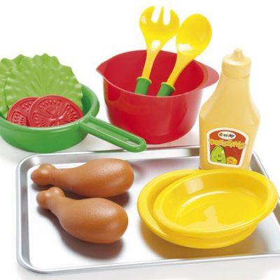 DANTOY Kylling og Salat sæt på Bakke