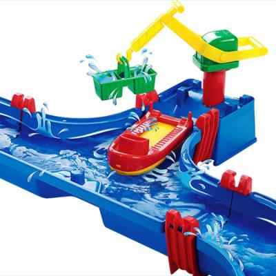 Aquaplay Havn, vandlegetøj til børn, vandleg