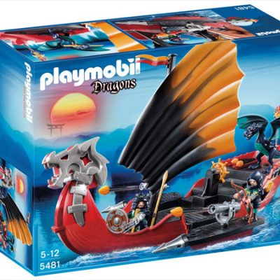 Playmobil Drage krigsskib, playmobil til børn, legetøj
