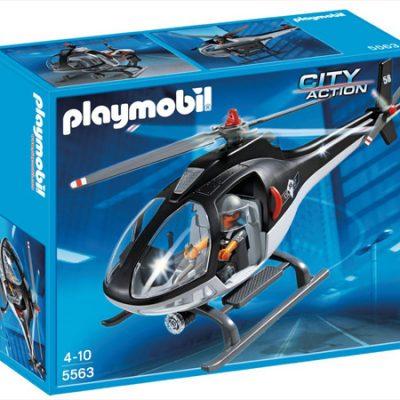 Playmobil Helikopter til specialstyrker, playmobil til børn