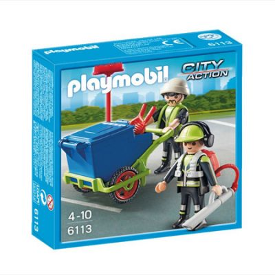 Playmobil Byrenoveringsteam, playmobil til børn