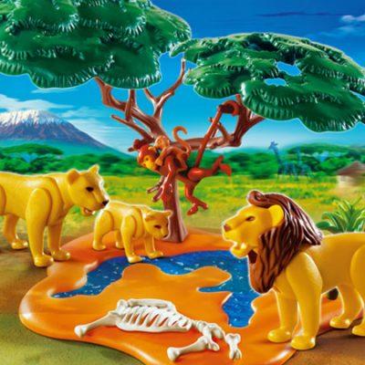 Playmobil Løveflok, playmobil legetøj til børn