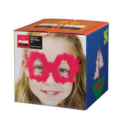 Plus Plus Mini Neon 600 stk., plus plus legetøj til børn, altid gode tilbud på legetøj
