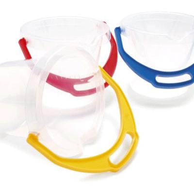 DANTOY Spand til børn i gennemsigtig, mat, kvalitets legetøj fra dantoy, sandlegetøj og udelegetøj