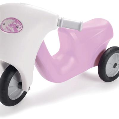 DANTOY Prinsesse motorcykel med Gummihjul