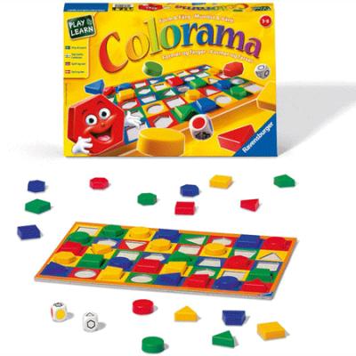 Colorama medium box, spil til børn