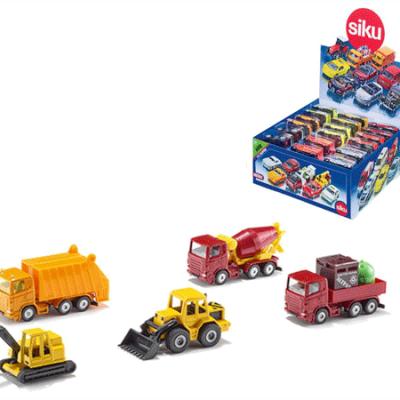 Siku 6008 Erhvervsbiler,, små legetøjs biler