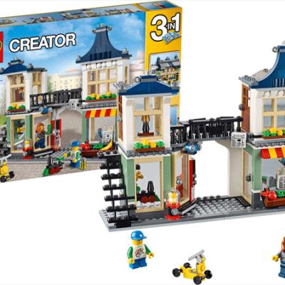 LEGO Creator Legetøjsbutik og Købmandsbutik