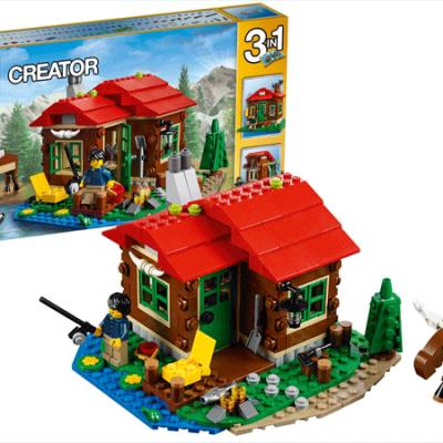 LEGO Creator Hytte ved søen