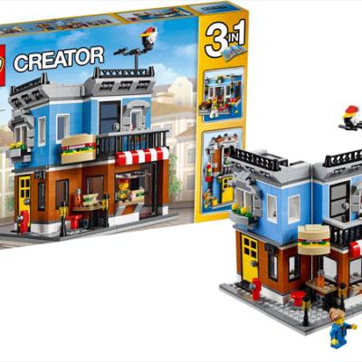 LEGO Creator Delikatesseforretning. lego til børn