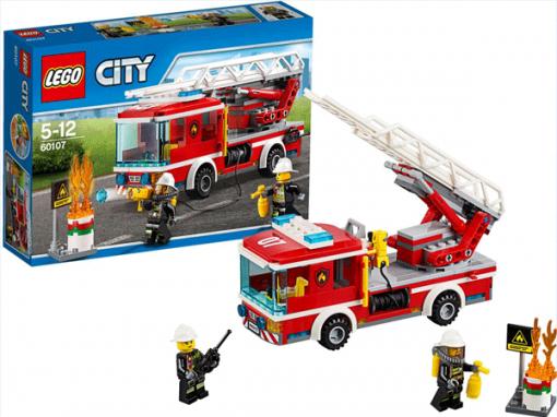 LEGO City Brandvæsnets stigevogn
