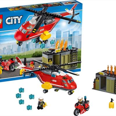 LEGO City Brandvæsnets udrykningsenhed