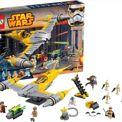 LEGO Star Wars Naboo Starfighter, legetøj til børn, stort udvalg af lego, altid gode tilbud på legetøj