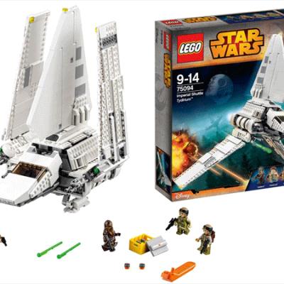 LEGO Star Wars Imperial Shuttle Tydirium, legetøj til børn, altid gode tilbud, lego star wars