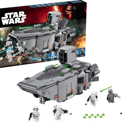 LEGO Star Wars First Order Transporter, lego til børn, stort udvalg af lego star wars, altid gode tilbud på legetøj til børn